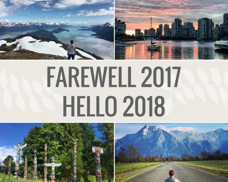 FAREWELL 2017HELLO 2018